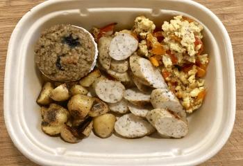 Grilled Chicken Breakfast Bowl