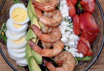Pan Seared Shrimp XXL Salad