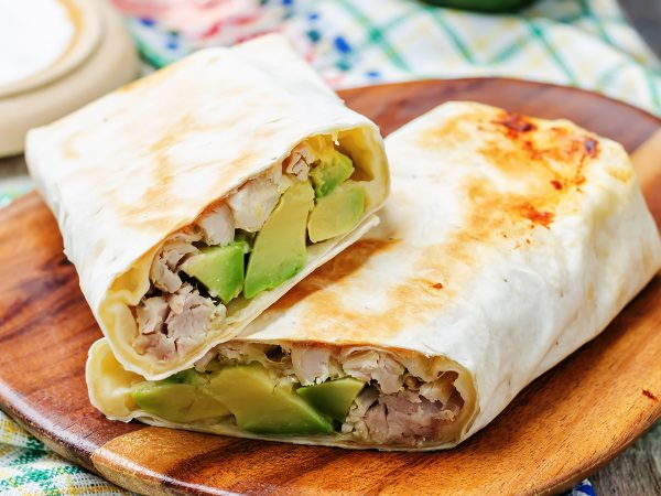 Out of the Cave Breakfast Burrito
