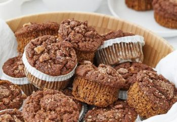 Yam Apple Pecan Muffins