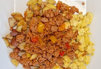 Fiesta Ground Turkey Plate