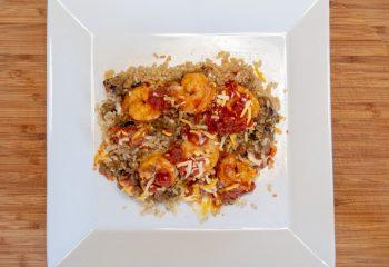 Cajun Shrimp Fiesta Bowl