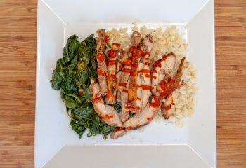 Diablo Chicken Plate