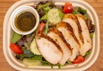 Grilled Blackened Chicken Breast Plate