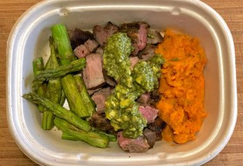 Avocado Chimichurri Grass-Fed Tri-Tip Plate