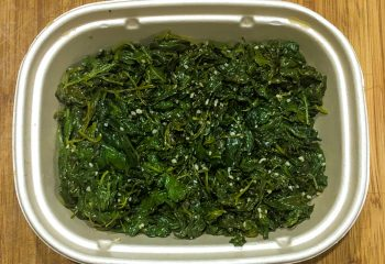 Garlic Spinach - a la carte