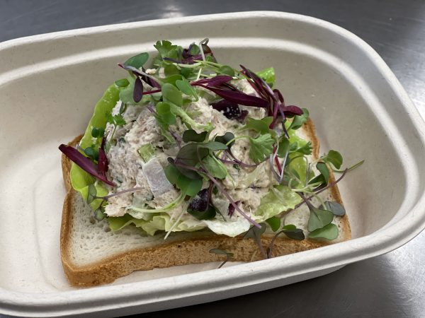 Cave Tuna Salad Gluten Free Bread 1