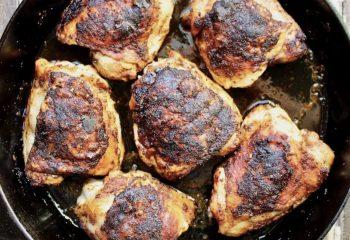 Blackened Chicken Thighs