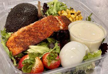 Blackened Salmon XXL Salad