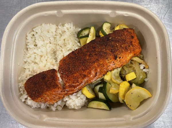 Out of the Cave Blackened Salmon Keto