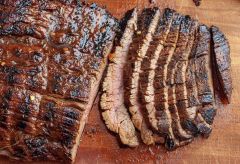 Grilled Wagyu Lime Flank Steak