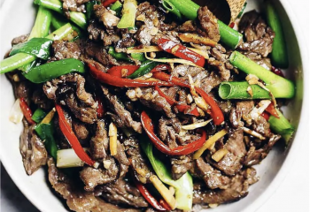Low Carb Keto Broccoli Tri-Tip Beef