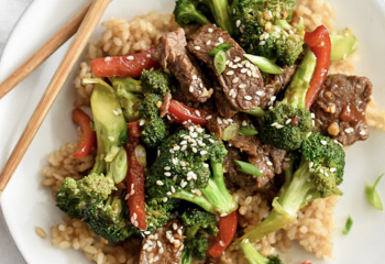 Low Carb Broccoli Tri-Tip Beef