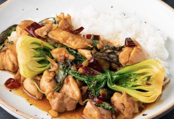 Low Carb Keto Thai Basil Chilli Chicken