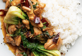 Low Carb Thai Basil Chilli Chicken
